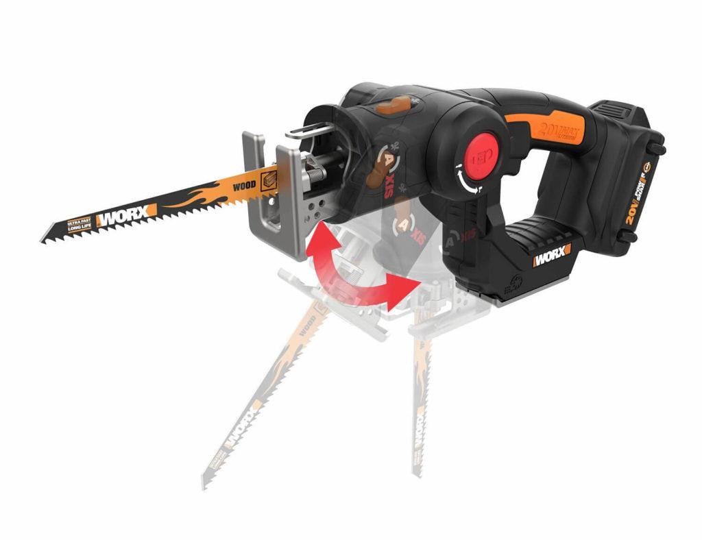 WORX cordless reciprocating saw